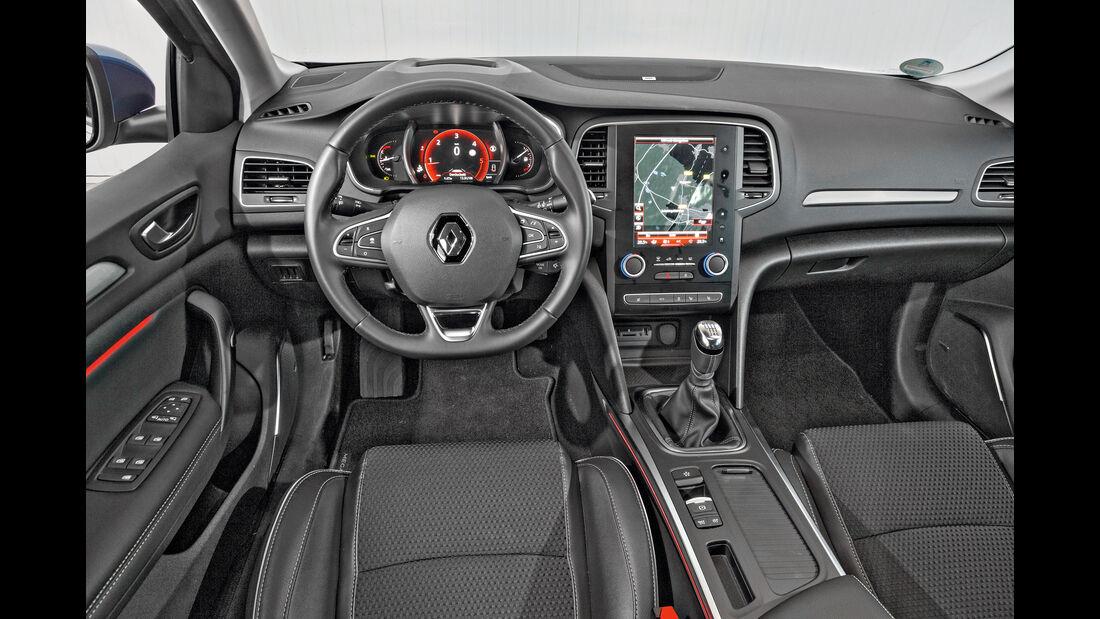 Renault Mégane Grandtour dCi 130, Cockpit
