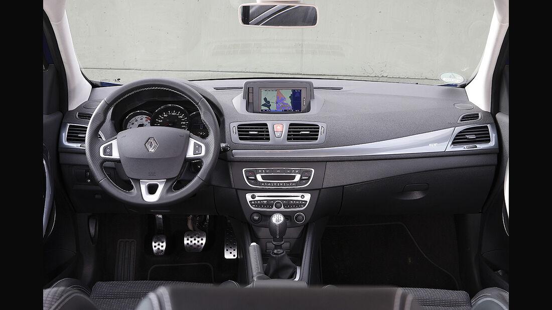 Renault Mégane, Innenraum, Cockpit