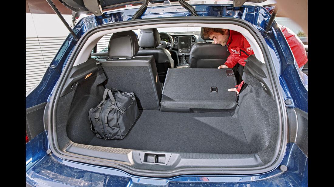 Renault Mégane, Kofferraum