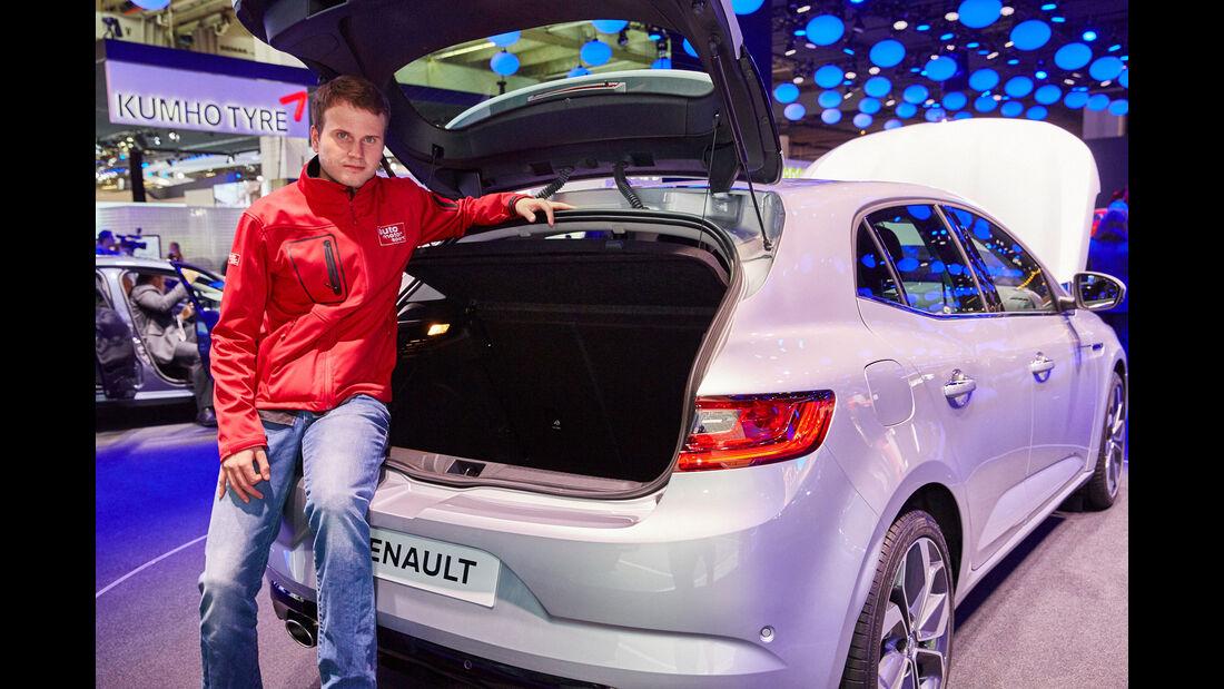Renault Mégane - Kofferraum - IAA 2015