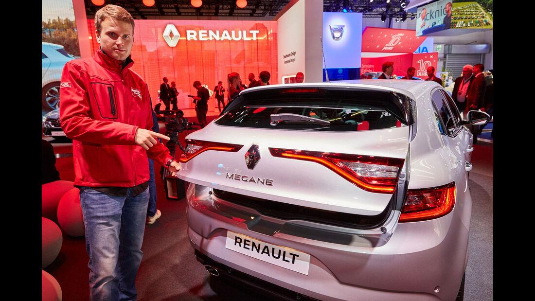 Renault Mégane - Kofferraum IAA 2015