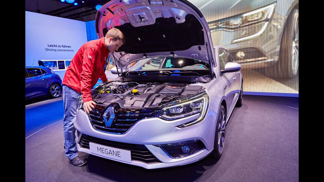 Renault Mégane - Motor - IAA 2015