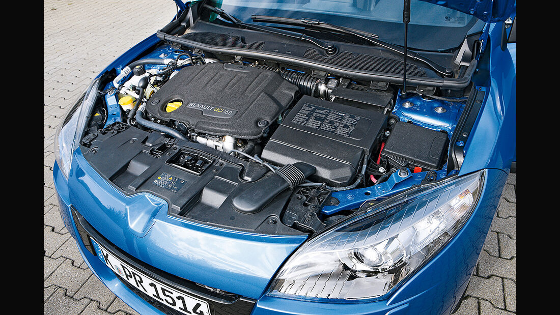 Renault Mégane, Motor