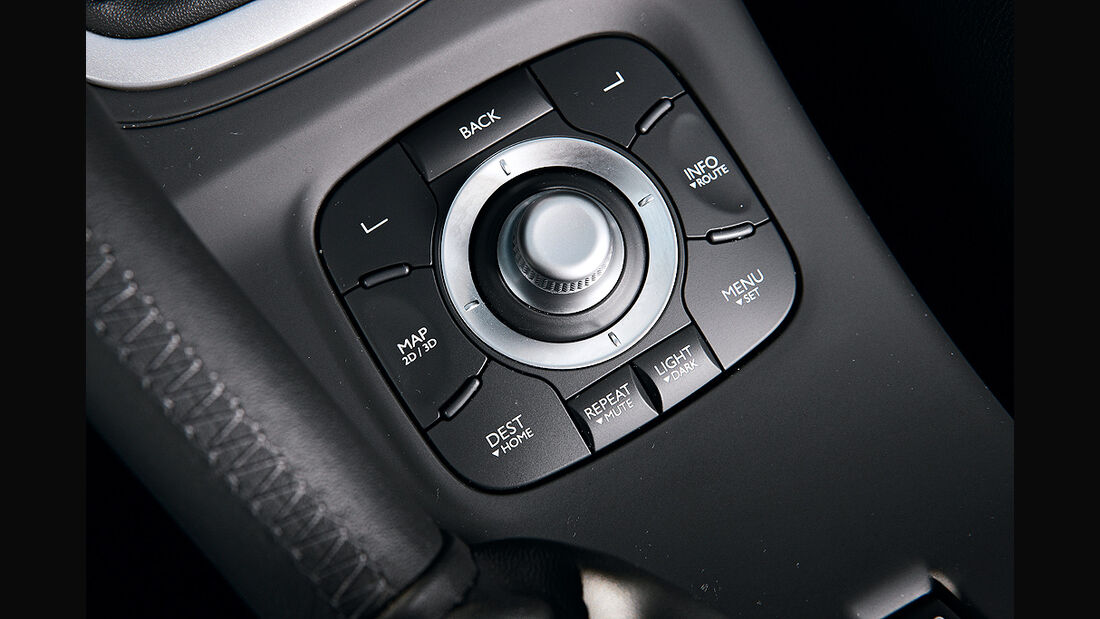 Renault Mégane, Navigation