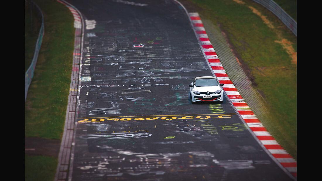 Renault Mégane R.S. 275 Trophy-R, Nürburgring, Nordscheife, Rekordfahrt, Fronttriebler