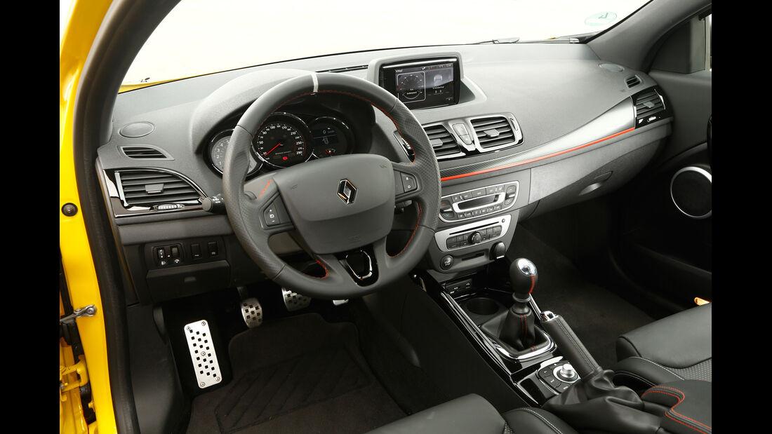 Renault Mégane R.S., Cockpit