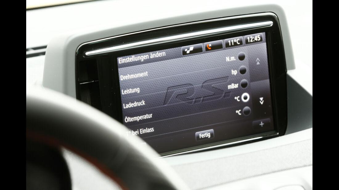 Renault Mégane R.S., Display, Infotainment