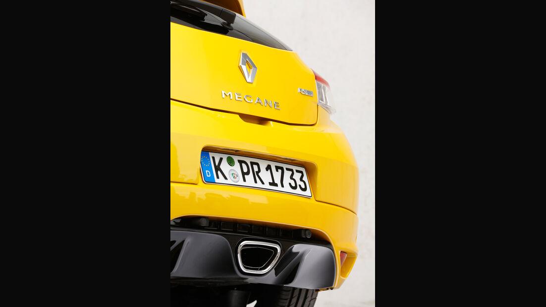 Renault Mégane R.S., Endrohre