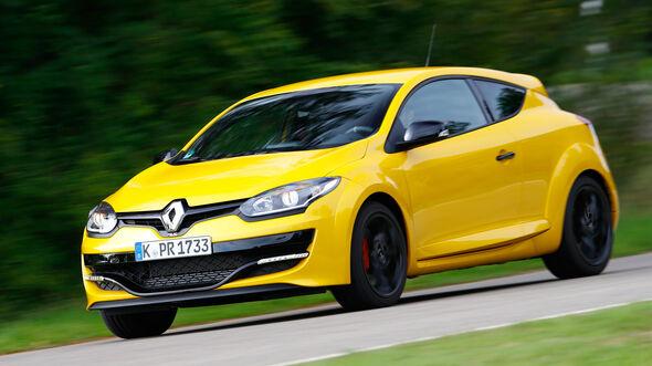 Renault Mégane R.S., Frontansicht