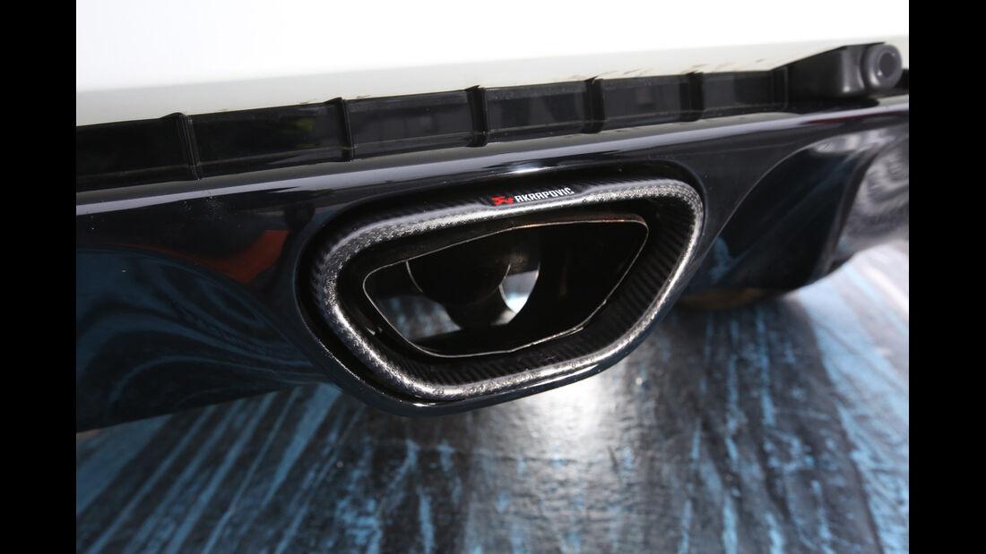 Renault Mégane R.S. Trophy-R, Auspuff, Endrohr