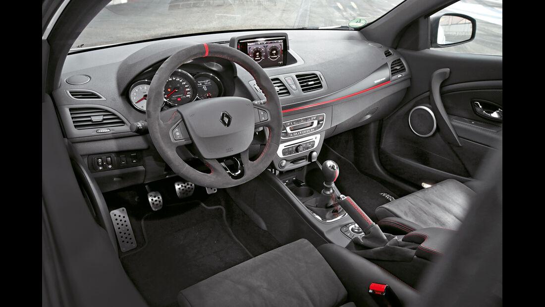 Renault Mégane R.S. Trophy-R, Cockpit