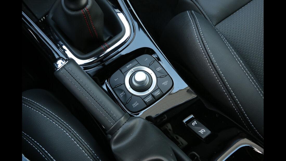 Renault Mégane RS, Bedienelemente