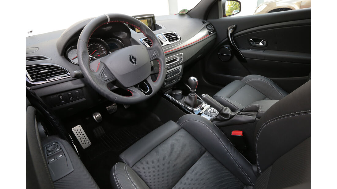 Renault Mégane RS, Cockpit, Fahrersitz