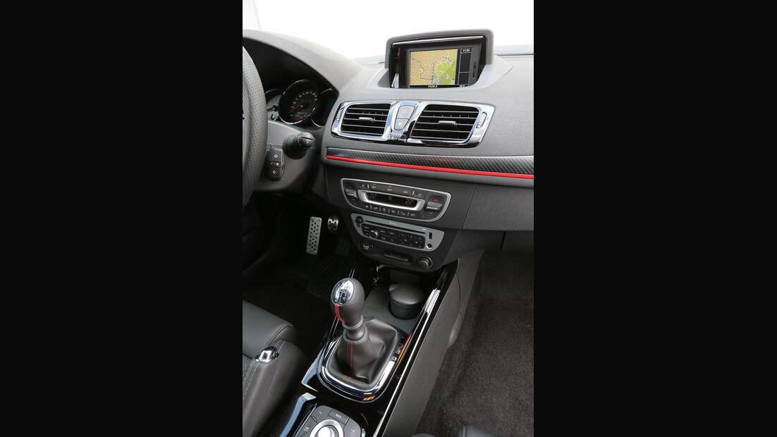 Renault Mégane RS, Mittelkonsole