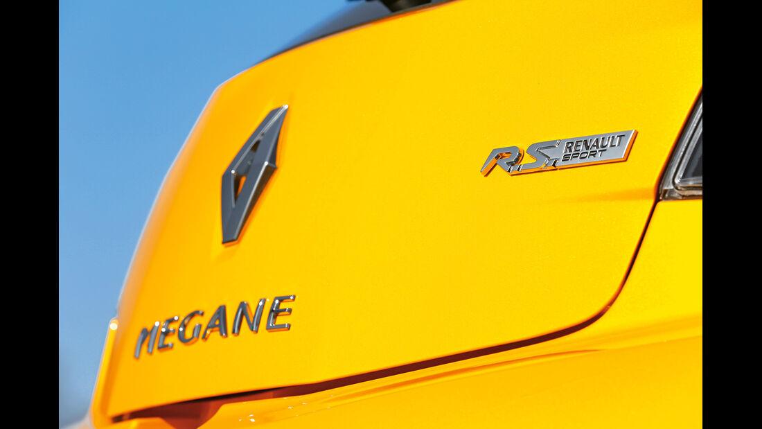 Renault Mégane RS, Typenbezeichnung