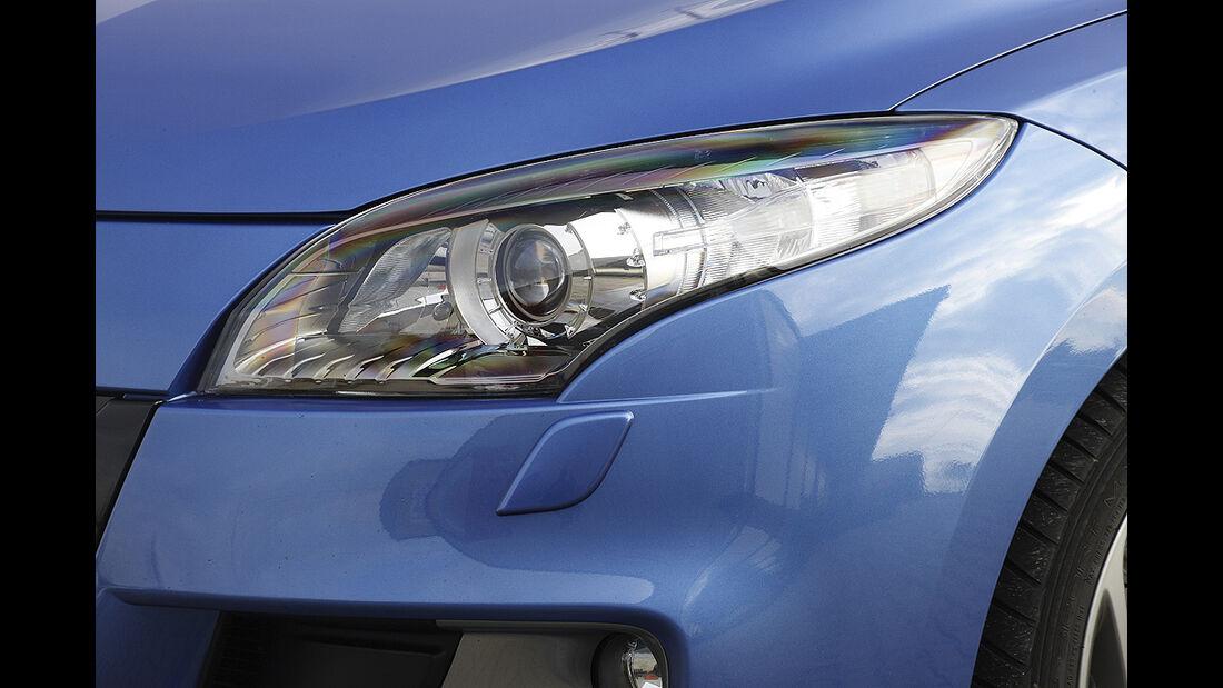 Renault Mégane, Scheinwerfer