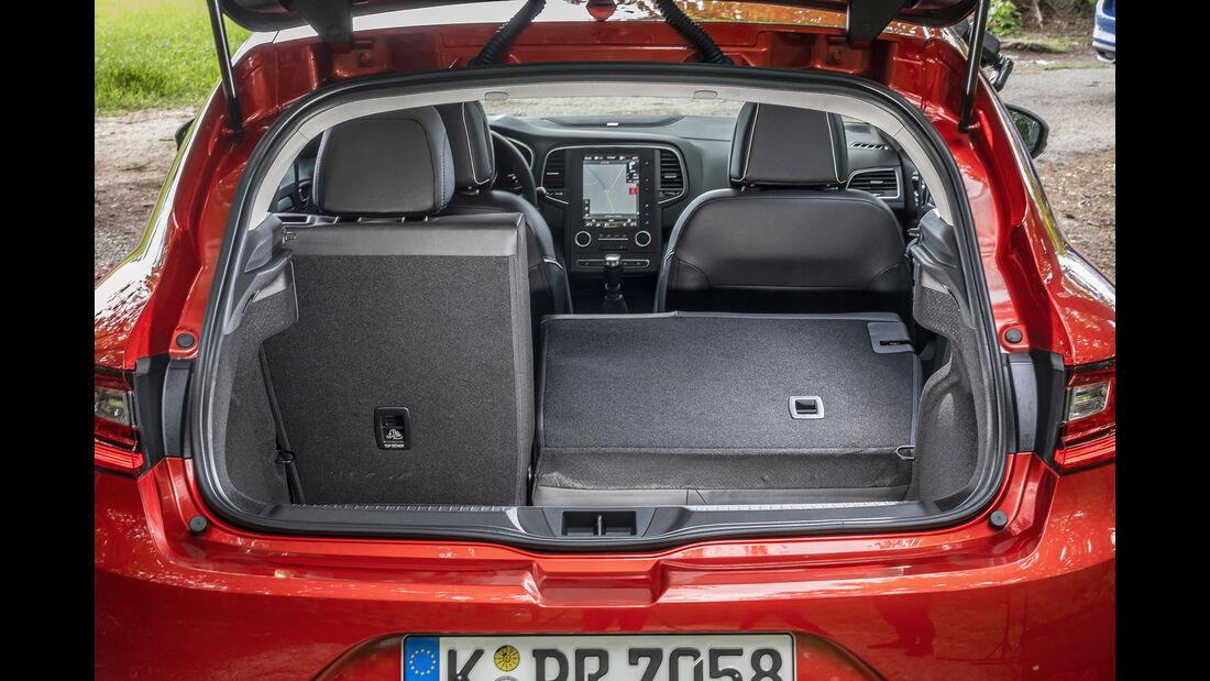 Renault Mégane TCe 140, Interieur