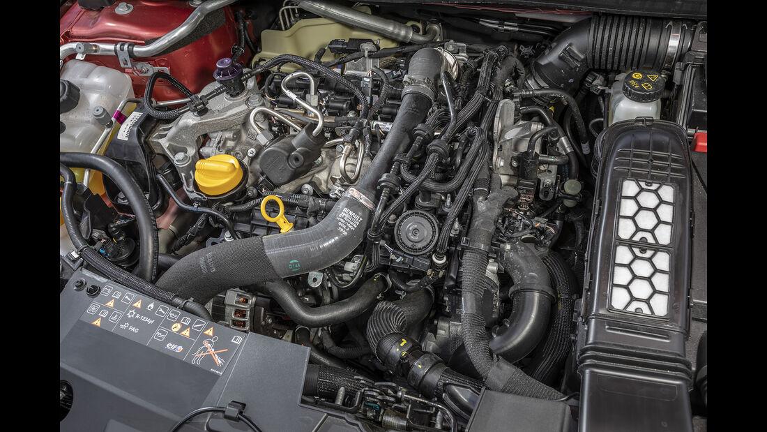 Renault Mégane TCe 140, Motorraum