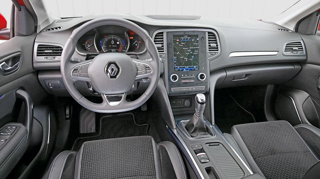 Renault Mégane dCi 130, Cockpit