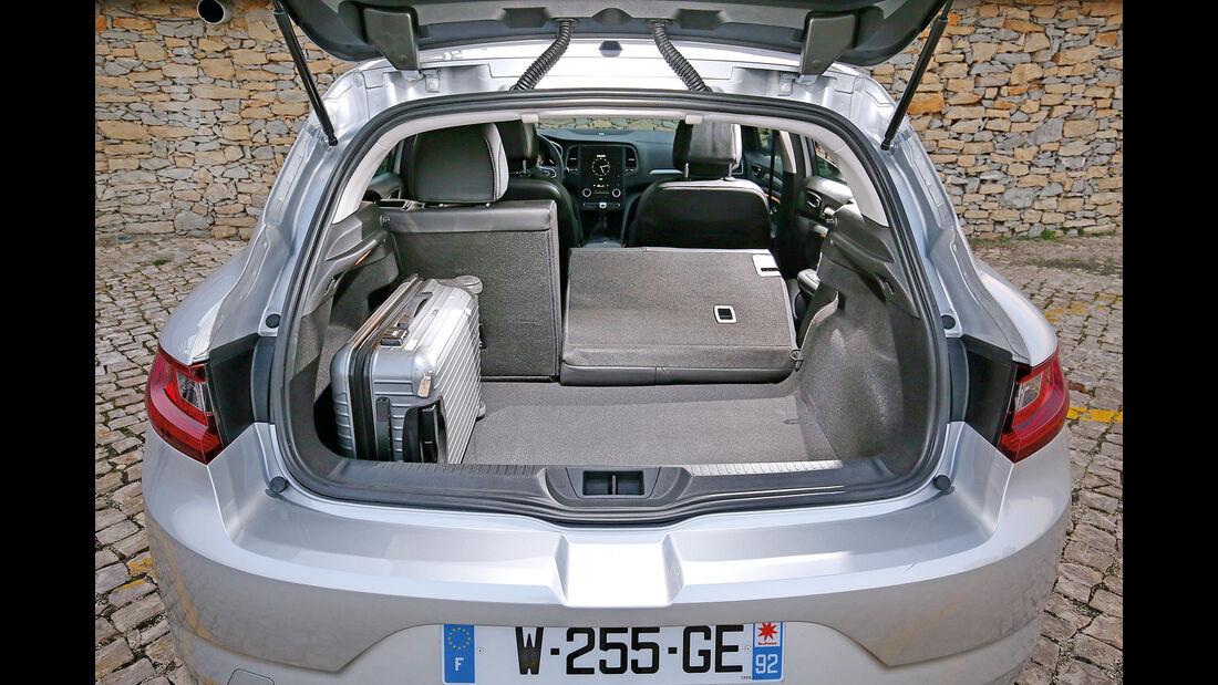 Renault Mégane dCi 130,  Kofferraum