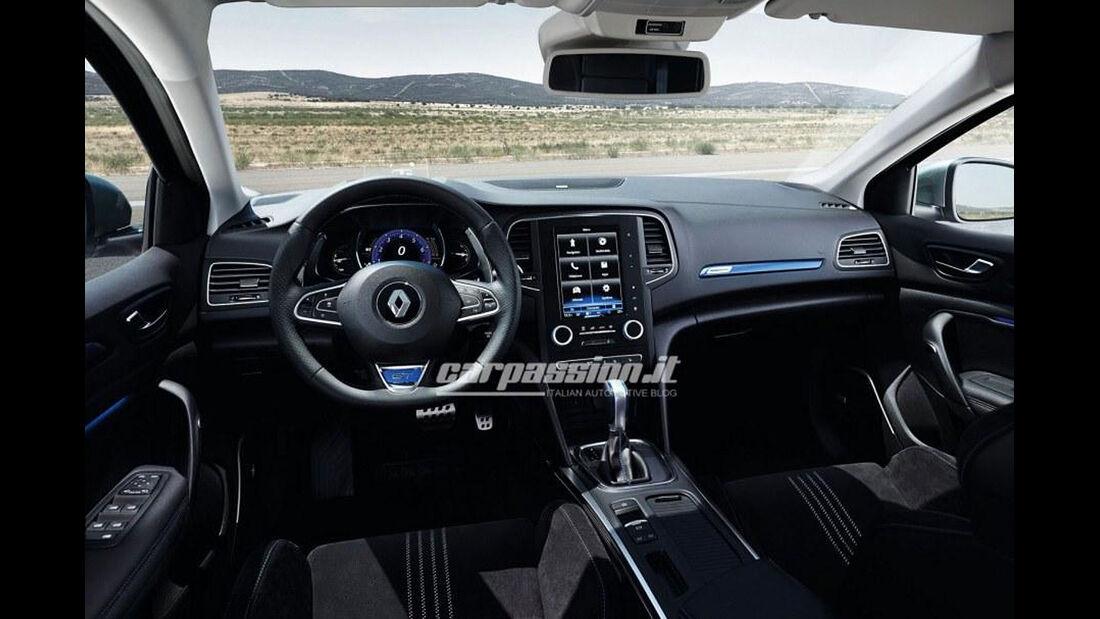 Renault Mégane geleaked