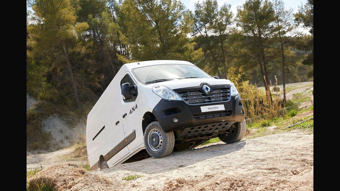 Renault Master 4x4 Transporter 2016