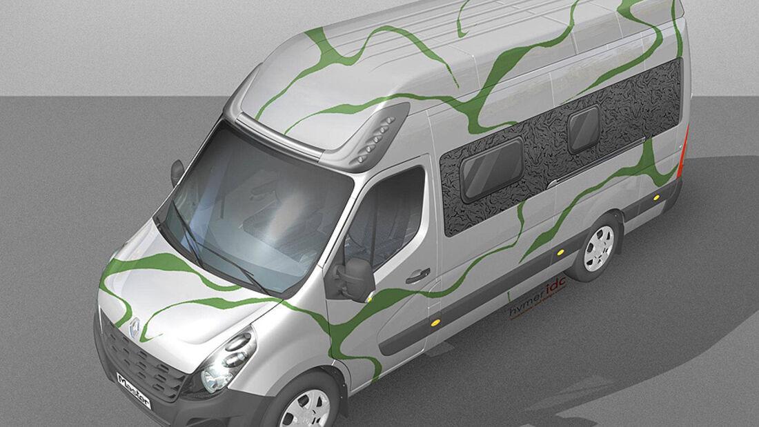 Renault Master Reisemobil flowing nature