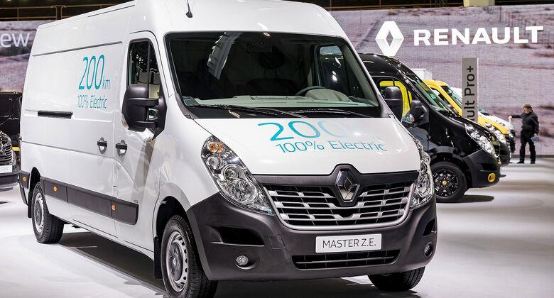 Renault Master Z.E. 2017