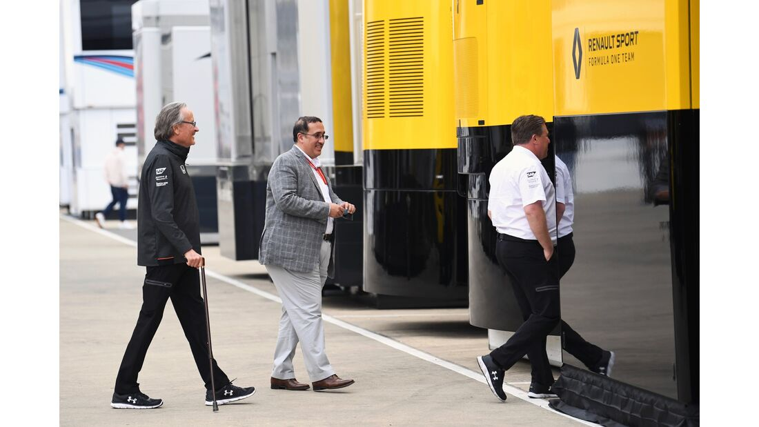 Renault - McLaren - Formel 1 - GP England - 15. Juli 2017