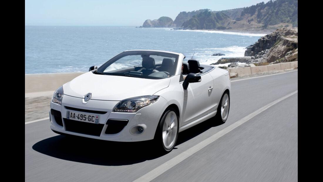 Renault Megane CC, Frontansicht