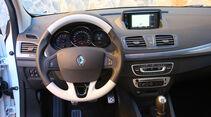Renault Megane, Cockpit, Lenkrad