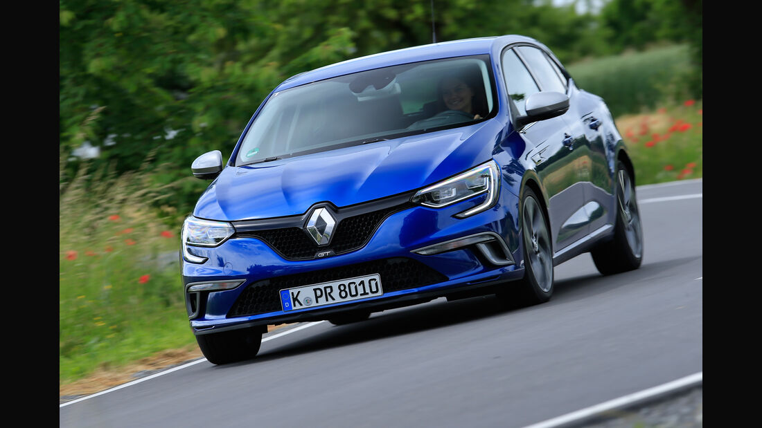 Renault Megane GT TCe 205, Frontansicht