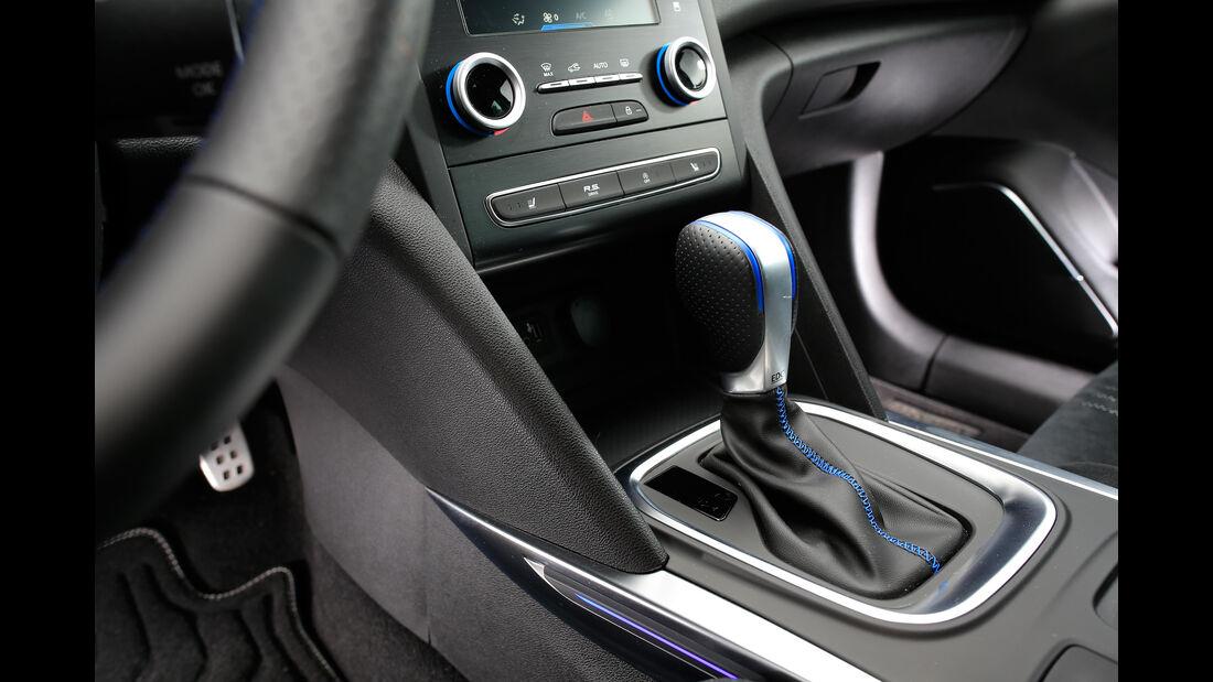 Renault Megane GT TCe 205, Mittelkonsole
