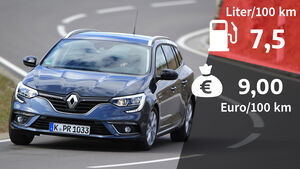 Renault Megane Grandtour Tce 140 Limited Realverbrauch Verbrauch