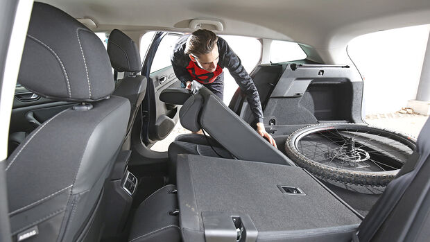 Renault Megane, Kofferraum