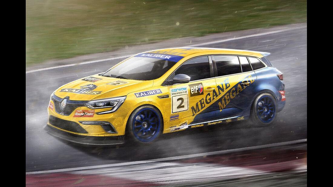 Renault Megane - Moderne Tourenwagen-Klassiker - 2016