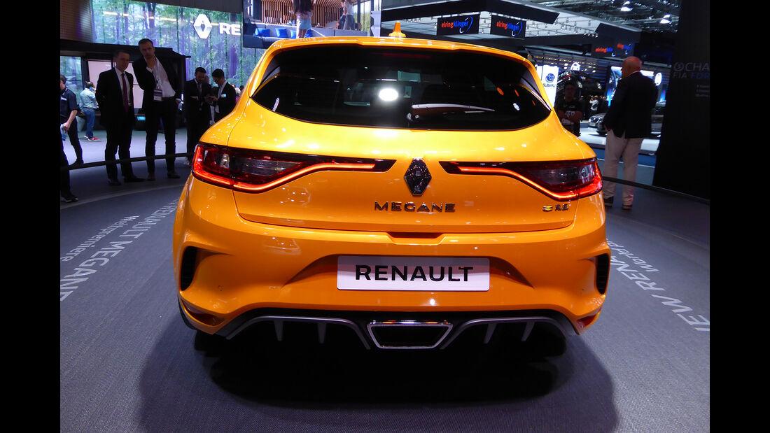 Renault Megane R.S. - Auspuff - IAA Frankfurt 2017
