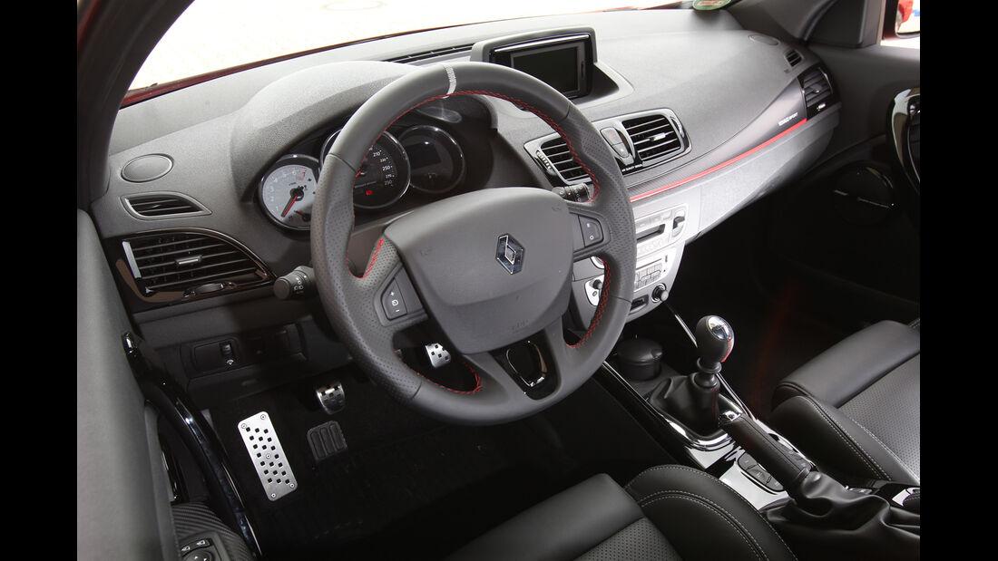 Renault Megane R.S., Cockpit