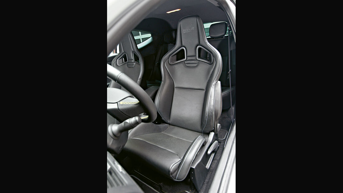 Renault Megane R.S., Fahrersitz, Sportsitz, Recaro