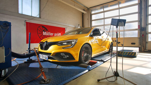 Renault Megane R.S., Front, Achsvermessung