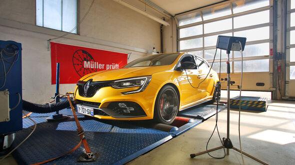 Renault Megane R.S., Front, Achsvermessung