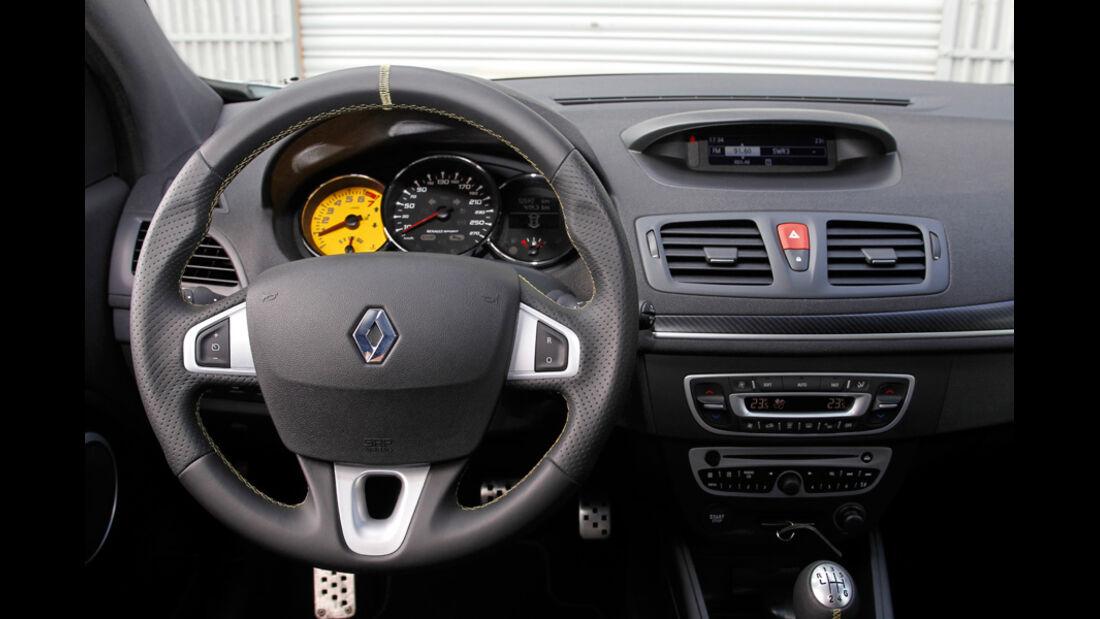 Renault Megane R.S., R.S.-Cockpit, Lenkrad