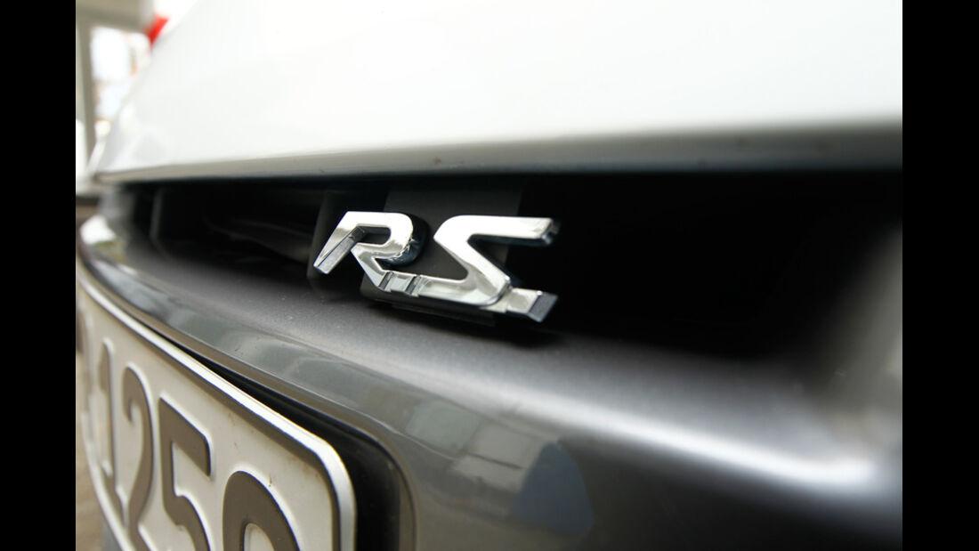Renault Megane R.S., Schriftzug