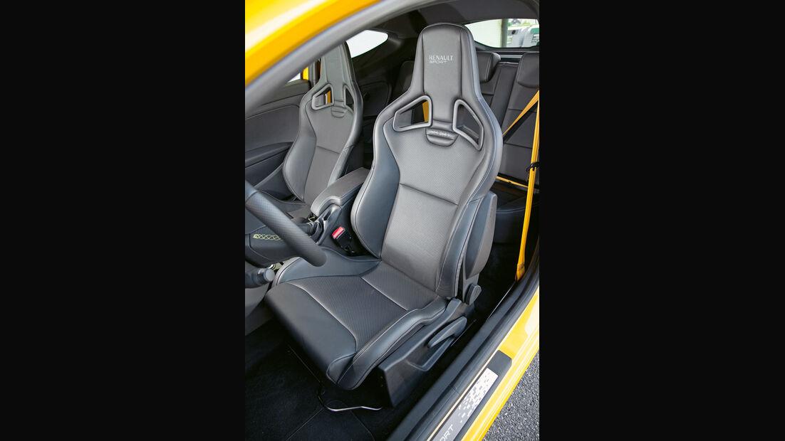 Renault Megane R.S., Sitze