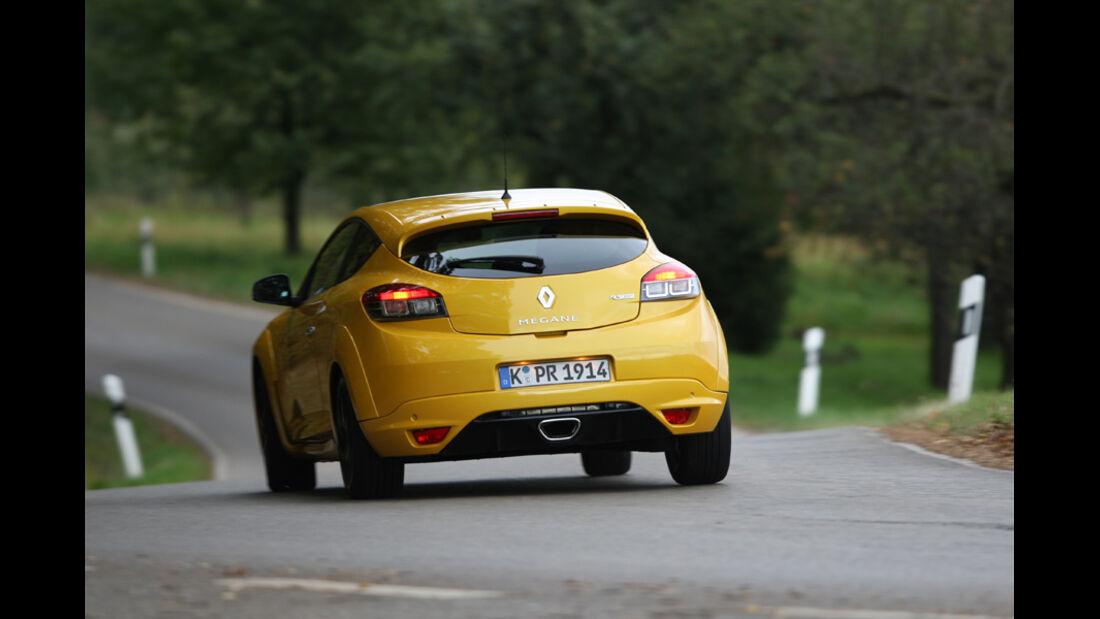 Renault Megane R.S. Trophy, Heck