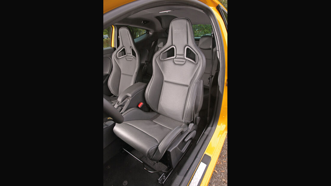 Renault Megane R.S. Trophy, Sitz, Fahrersitz