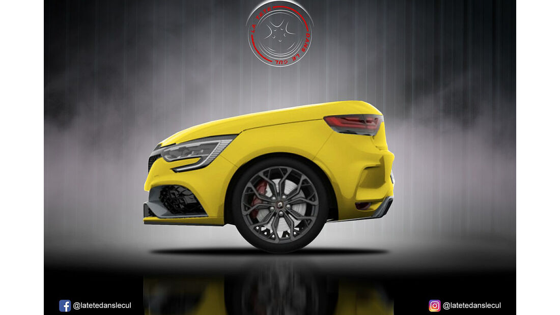 Renault Megane RS Retusche