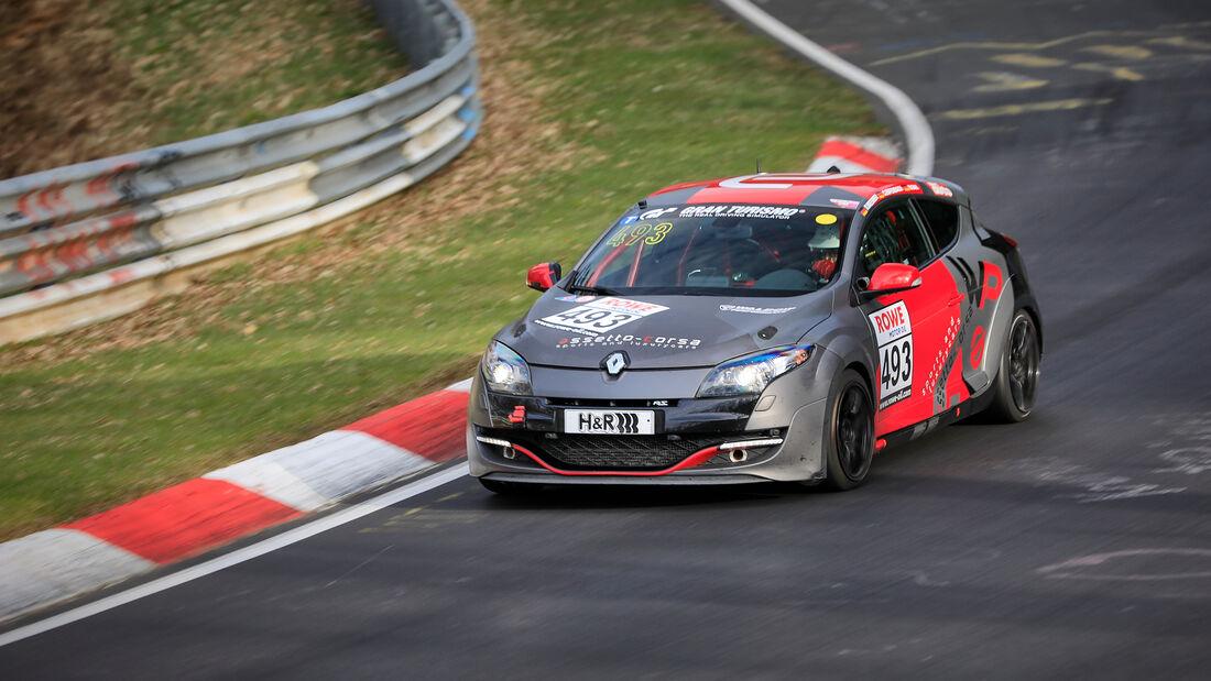 Renault Megane RS - Startnummer #493 - VT2 - NLS 2021 - Langstreckenmeisterschaft - Nürburgring - Nordschleife