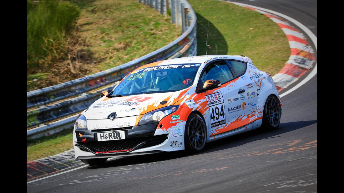 Renault Megane RS - Startnummer #494 - rent2drive-FAMILIA-racing - VT2 - VLN 2019 - Langstreckenmeisterschaft - Nürburgring - Nordschleife