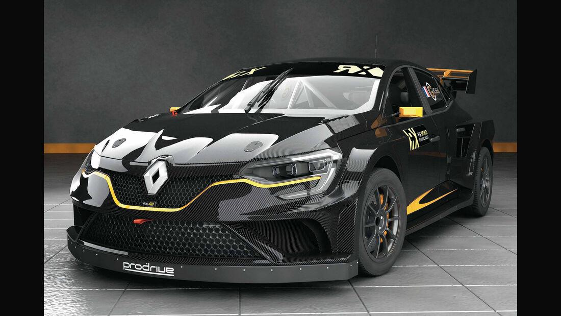 Renault Megane Rallycross Prodrive 2017